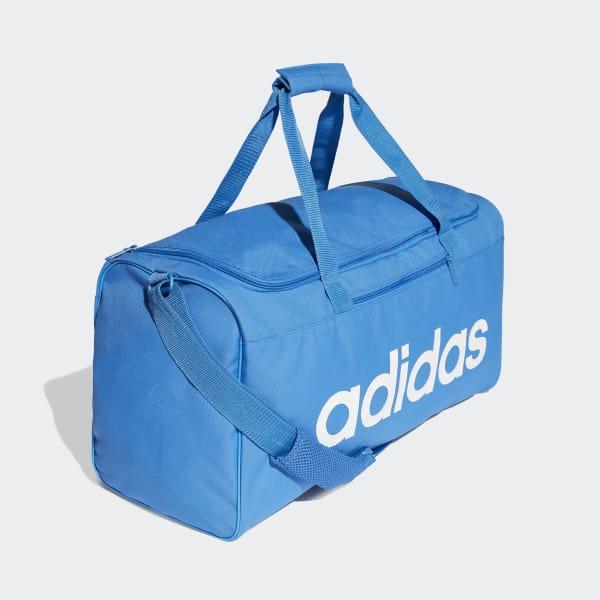6308c3a47 Mala Duffel Linear Core Média - Azul adidas | adidas Brasil