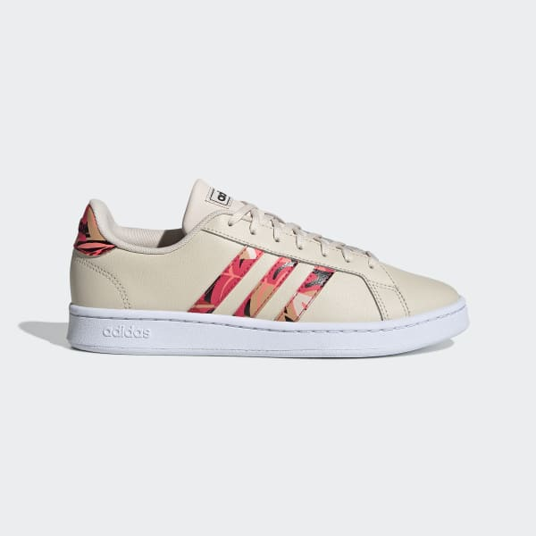 adidas grand court rouge