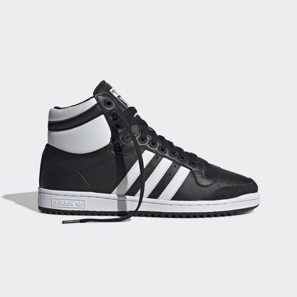 adidas Top Ten Hi Shoes Black | adidas UK