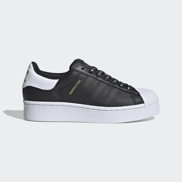 adidas Superstar Bold Shoes - Black