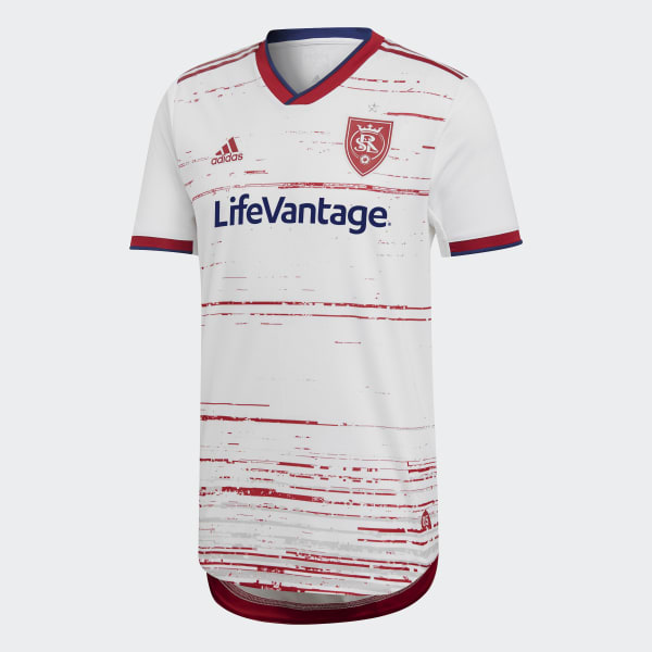 the best attitude 24976 45cf6 adidas Real Salt Lake Away Authentic Jersey - White | adidas US