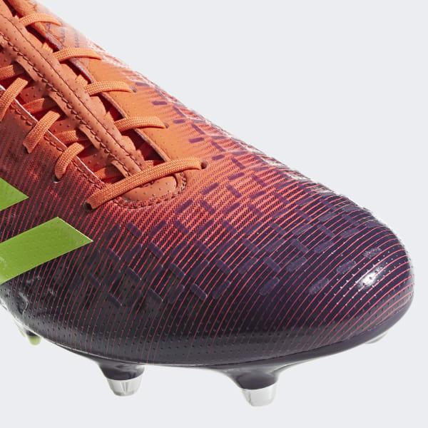 Bota de rugby Predator Malice Control césped natural húmedo - Naranja  adidas  5ba852511e044