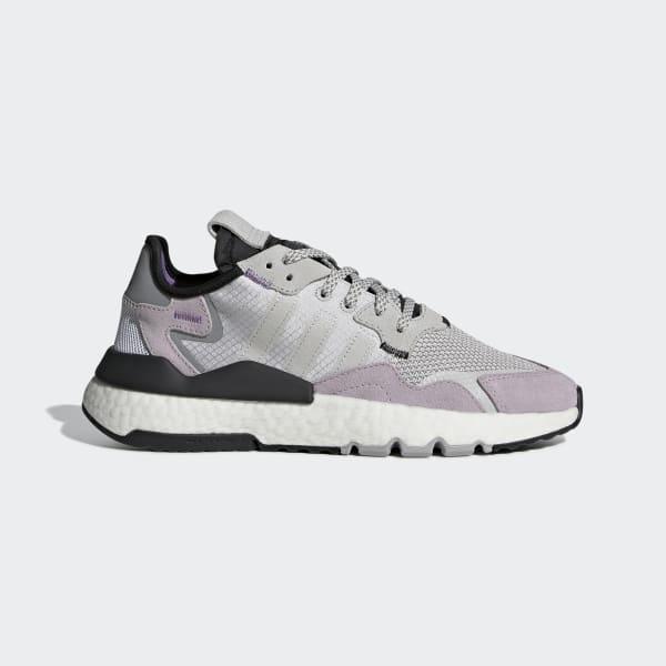 adidas Nite Jogger Shoes - Grey | adidas US