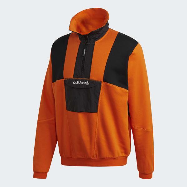 Disfrazado doce cascada  adidas Adventure Field Half-Zip Sweatshirt - Orange | adidas New Zealand