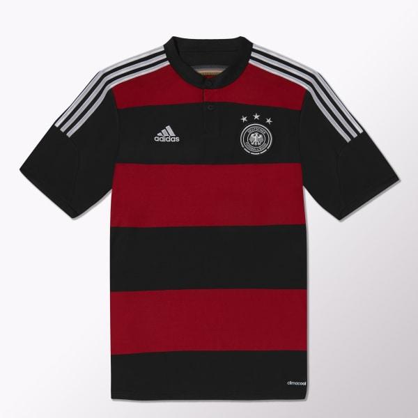 741efda7785ad adidas Camiseta de Fútbol Selección Alemana Visitante - Negro ...