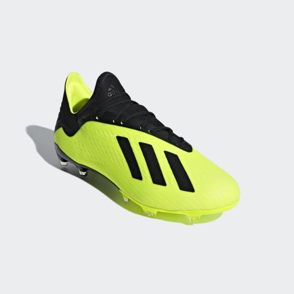 51ca23cdae76b adidas Kopačky X 18.2 Firm Ground - žltá | adidas Slovakia