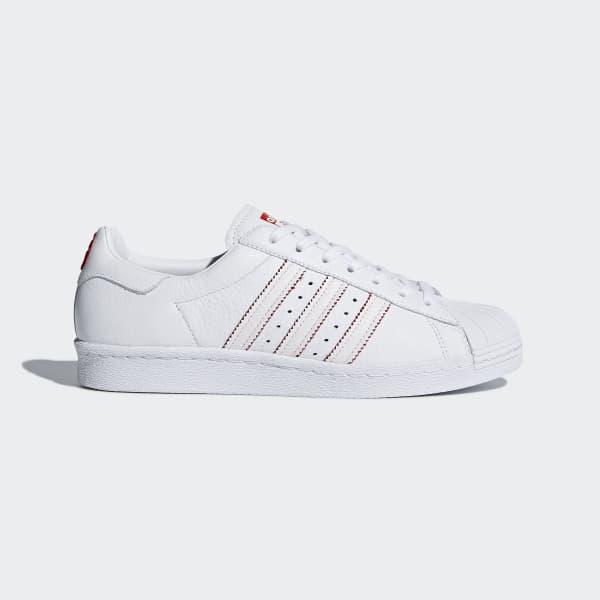 Modelos de Adidas Superstar 80s CNY Zapatillas Rojo Blanco