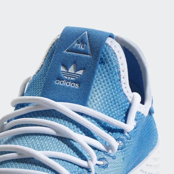 6c8d53d4ed36a adidas Pharrell Williams Tennis Hu Shoes - Blue