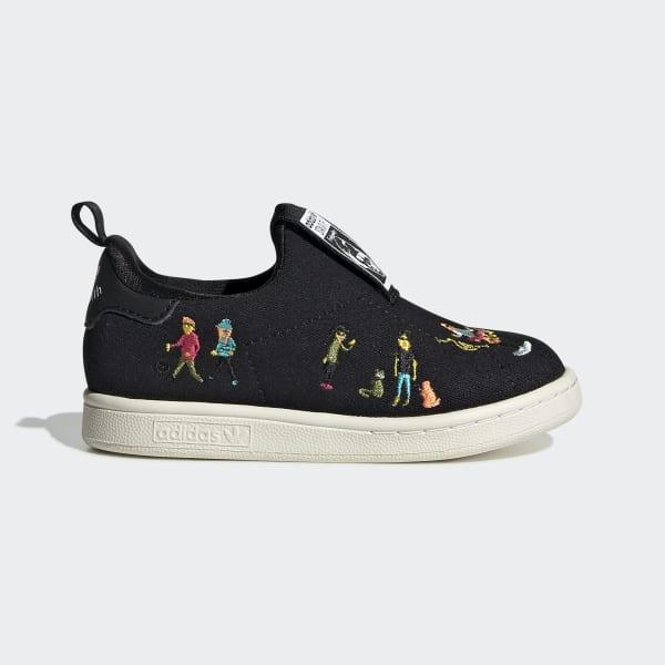adidas Stan Smith 360 Shoes - Black
