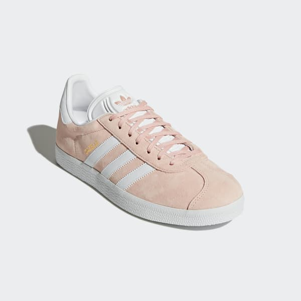Chaussures Gazelle roses et blanches pour femme | adidas France
