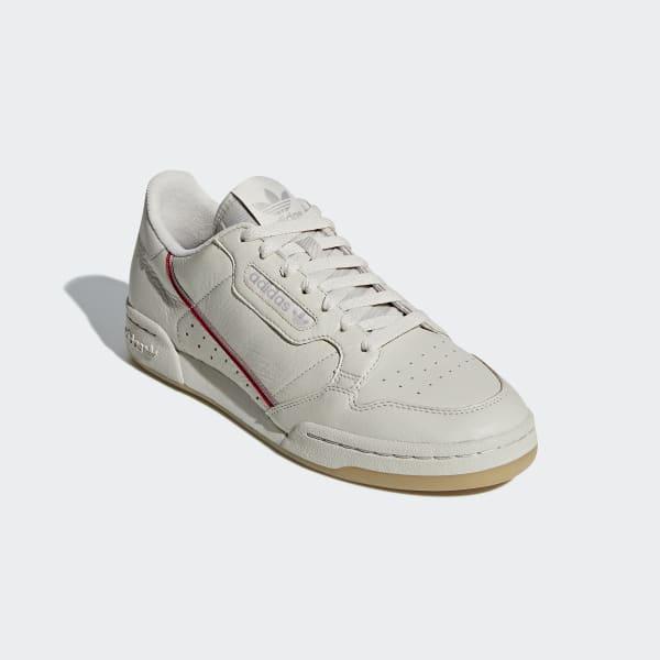 0740d3b6f04 Tênis Continental 80 - Bege adidas