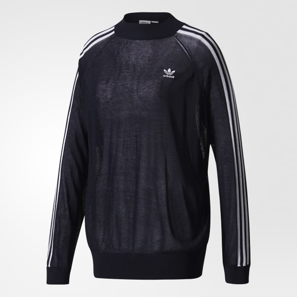 adidas Suéter 3-Stripes - LEGEND INK F17  92f7db2fc0f8