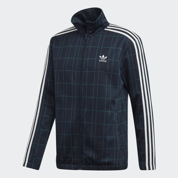 adidas Originals Tartan Track Jacket |