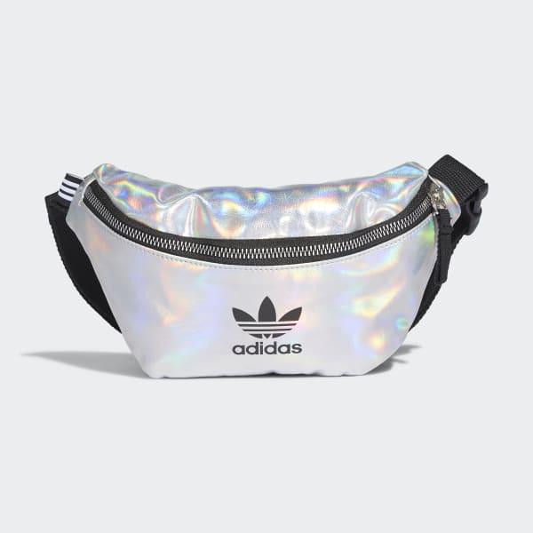 adidas Metallic Waist Bag - Silver