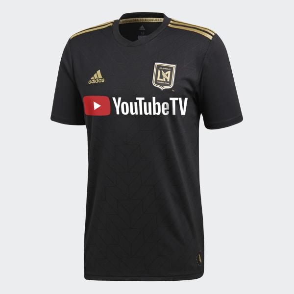 adidas Los Angeles Football Club Home Jersey - Black  98ad45f44