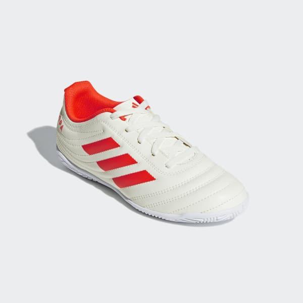 4482d9d35 adidas Calzado de Fútbol COPA 19 4 IN JR - Blanco