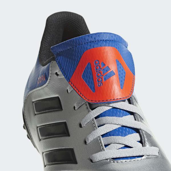 adidas Calzado de Fútbol Copa Tango 18.4 Pasto Sintético - Plata ... 920490f0ce41c