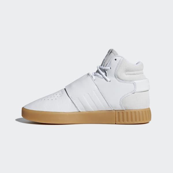 f5a2d5bb3f4f44 adidas Tubular Invader Strap Shoes - White