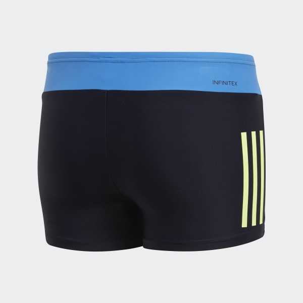 Traje de Baño Tipo Bóxer Fitness Colorblock