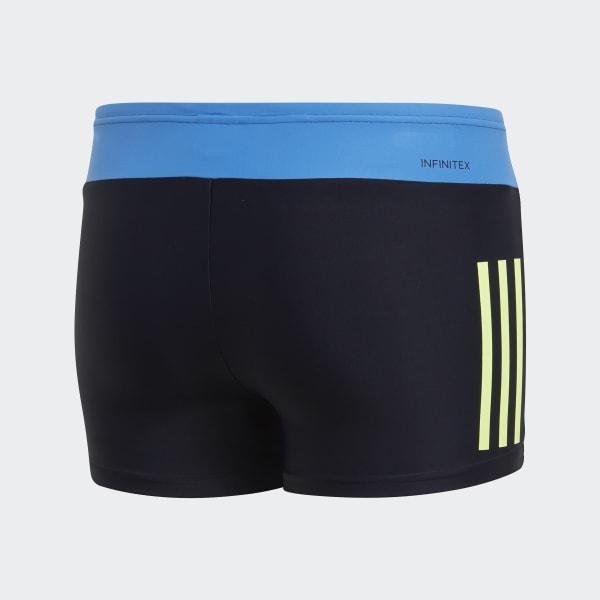 Traje de Natación Tipo Bóxer Fitness Colorblock