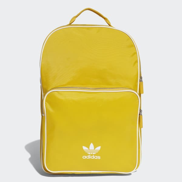 57ed489f5d3 adidas Classic Backpack - Yellow | adidas US