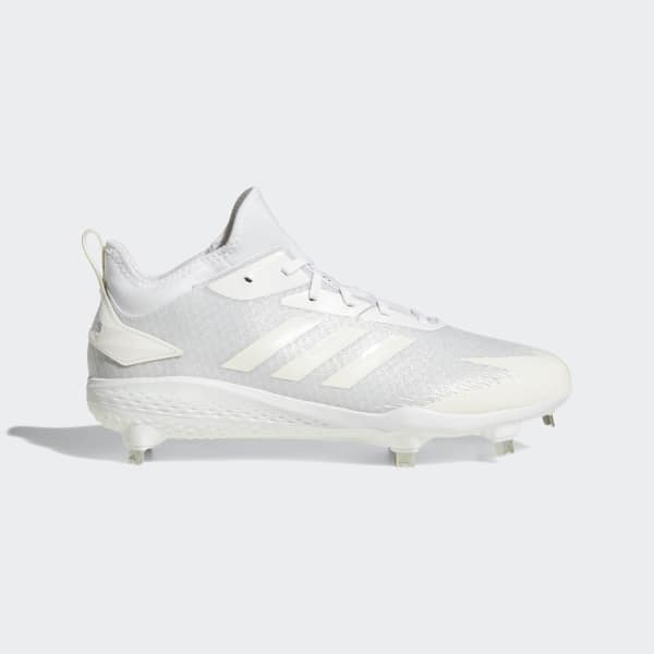 b89e61d7385 adidas Adizero Afterburner V Dipped Cleats - White