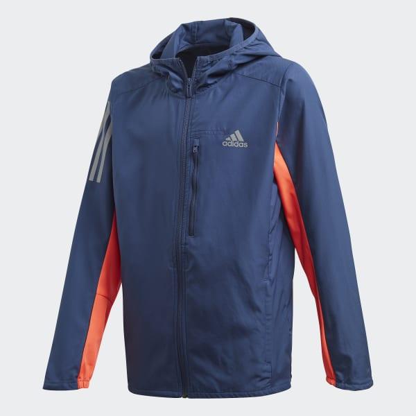 adidas Indigo Own The Run Jacket