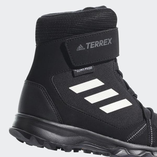 adidas TERREX Snow Sko Børn, core blackchalk whitegrey four