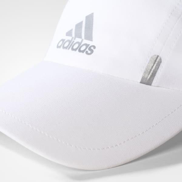 7e43f9ced14f3 Boné Corrida Climalite - Branco adidas
