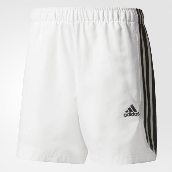 Pantaloneta Tres Rayas Sport Essentials Chelsea - Blanco adidas ... 4d62ffb312ca9
