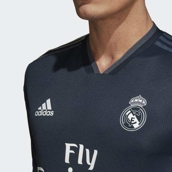 100% authentic 906fb b4942 adidas Real Madrid Away Authentic Jersey - Black | adidas Switzerland