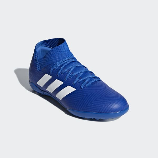 01349fe48c5640 adidas Nemeziz Tango 18.3 Turf Boots - Blue