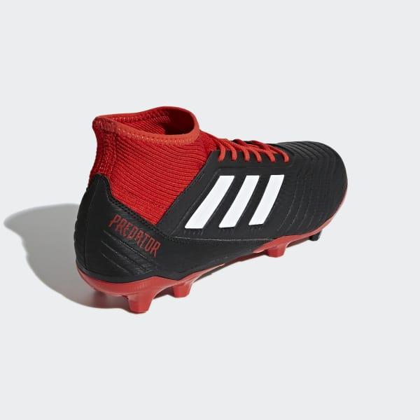new arrival e6b62 c99f8 official zapatos de fútbol predator 18.3 terreno firme negro adidas adidas  chile edc94 b1241