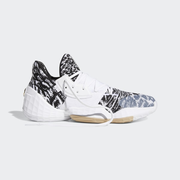 adidas Harden Vol. 4 Shoes - White