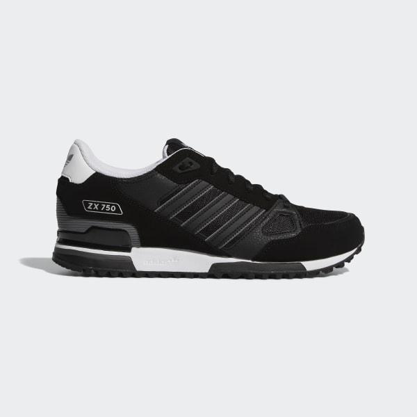 adidas Кроссовки ZX 750 - черный | adidas Россия