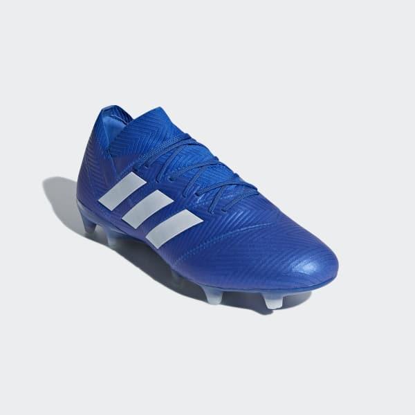 9d778f24f85 Bota de fútbol Nemeziz 18.1 césped natural seco - Azul adidas ...