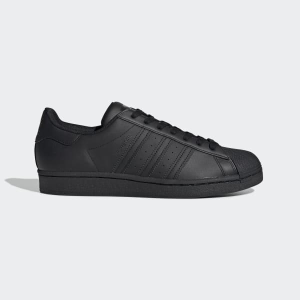 adidas Damen Superstar Sneakers, Schwarz (Core BlackCore