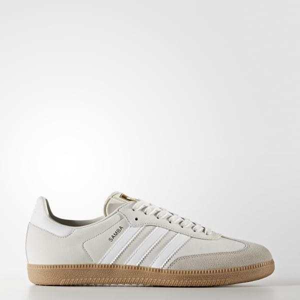 adidas White Samba OG Sneakers
