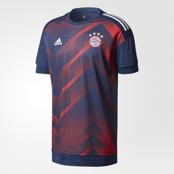 pretty nice 421c5 a7e54 adidas FC Bayern Munich Pre-Game Home Authentic Jersey - Blue | adidas  Canada