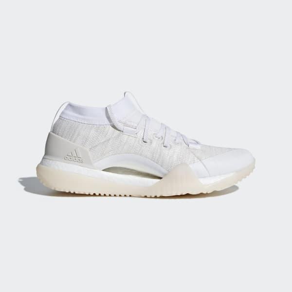 Adidas Women's Pureboost X TR 3.0 Trainer Running Shoes Boost White - CG3529