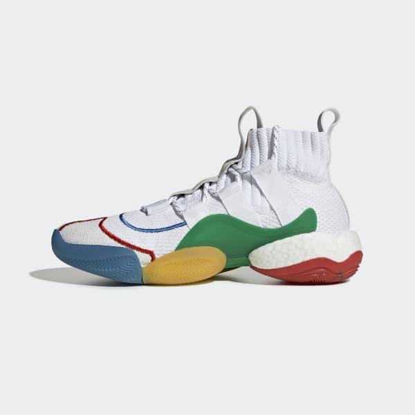 a6ae949fa adidas Кроссовки Crazy BYW LVL x Pharrell Williams - белый