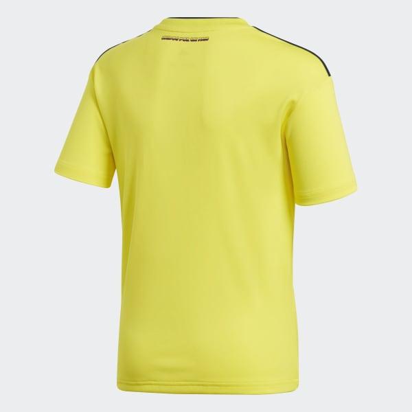 4a775b191bb76 adidas Jersey Oficial Selección de Colombia Local Niño 2018 ...