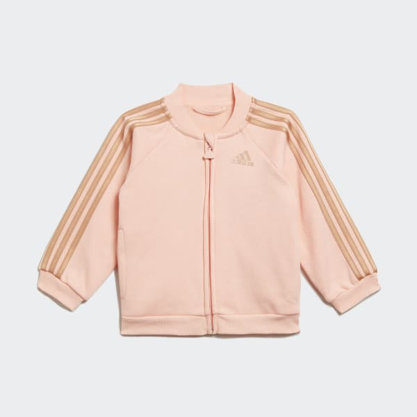Adidas felpa tuta giacca tag L uomo colore rosa