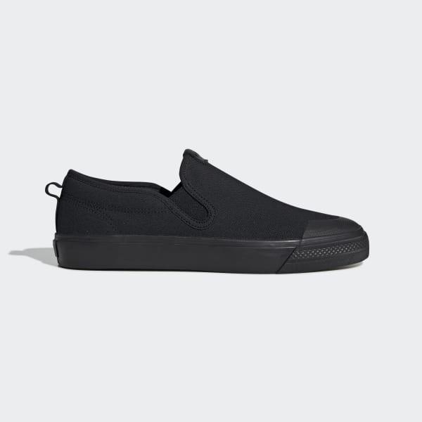 Men's Nizza Slip-On All Black Shoes
