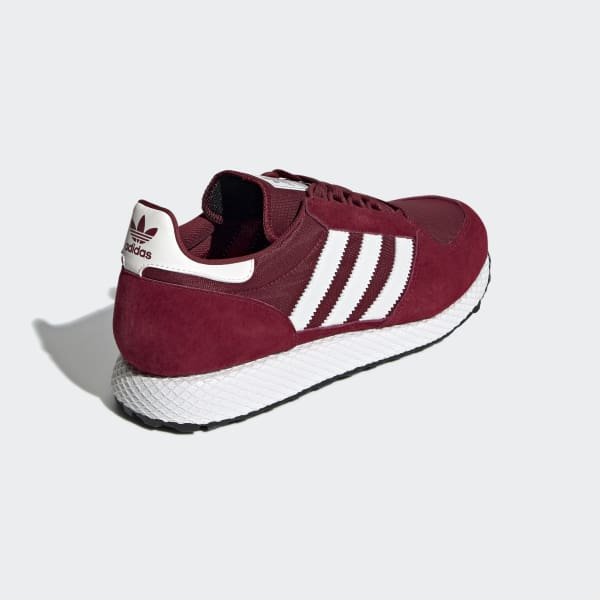 874d1f49d28 adidas Forest Grove Shoes - Red | adidas Turkey