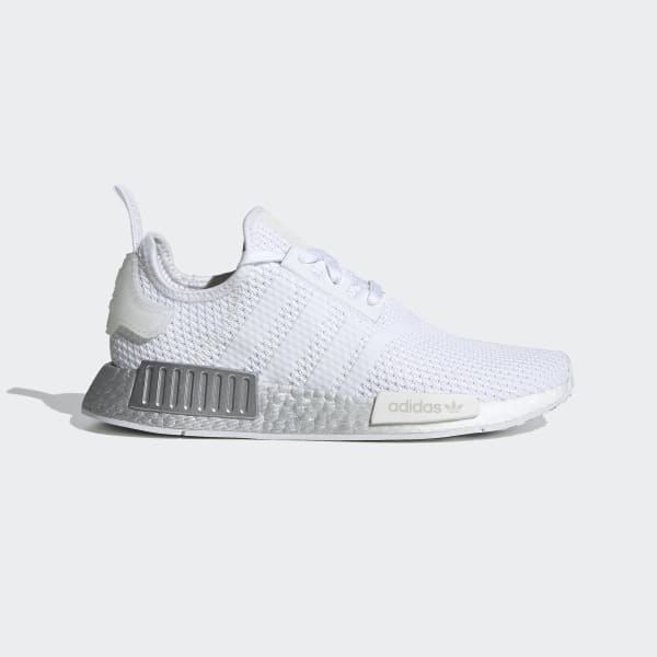 Women S Nmd R1 Cloud White And Crystal White Shoes Adidas Us