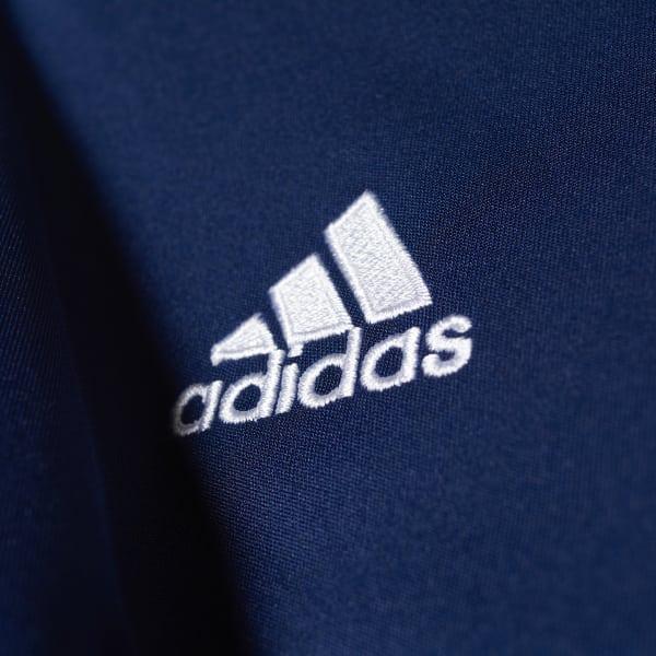 Camisa Infantil Entrada 14 - Azul adidas  b8da56579ba
