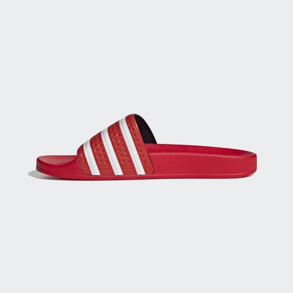 adidas originals adilette rouge