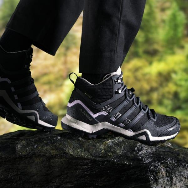 Valiente Plantación esperanza  adidas Terrex Swift R2 Mid GORE-TEX Hiking Shoes - Black | adidas Finland