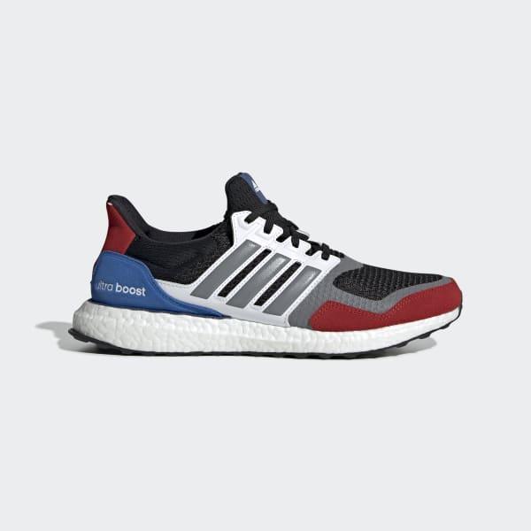 volumen Itaca Sucio  Men's Ultraboost S&L Core Black, Red and Blue Shoes | adidas US